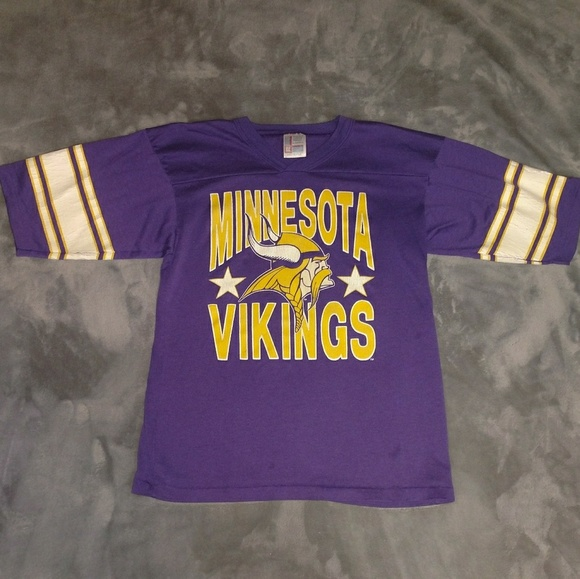 timeless design c5e91 2d594 Minnesota Vikings youth jersey tee